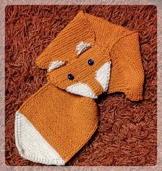 Ravelry: angelaknits' Little Fox Fox Scarf, Little Fox, Ravelry, Fair Isle Knitting, Knit Stitches