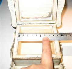 Простой способ внутреннего оформления шкатулок тканями - Ярмарка Мастеров - ручная работа, handmade
