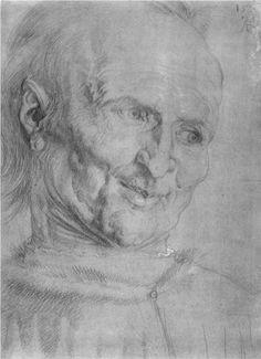 "Studies on a great ""picture of Mary '  St. Joseph - Alberto Durero"