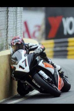 Macau GP 2010.  Steve Mercer