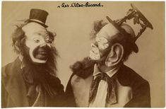 French Clowns From 1900-1930s