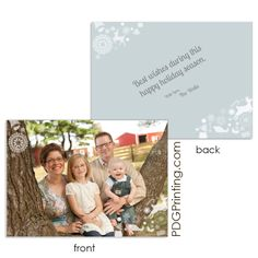 Order online! 5x7 double-sided