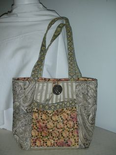 Veranda Totemade with paisley by QuiltingMyWay on Etsy, $40.00