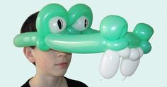 How to make balloon animals using modeling balloons and balloon twisting techniques. Balloon Hat, Balloon Animals, Balloon Arch, Balloons, Masquerade Party, Masquerade Masks, How To Make Balloon, Traditional Japanese Tattoos, Lowbrow Art