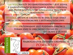 O tym dlaczego, poza ketchupem, warto spożywać pomidory w czystej postaci ;-)