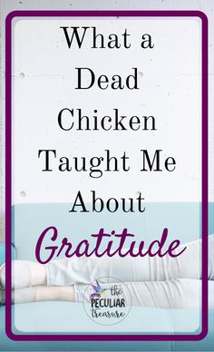 The Peculiar Treasure: What A Dead Chicken Taught Me About Gratitude
