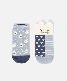 Pack of rabbit ankle socks - OYSHO