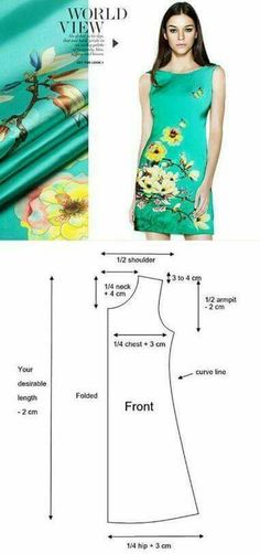 Magnolia Floral Print Turquoise Silk Stretch Satin Fabric Width 46 inch Magnolia denudata and Butterfly print silk stretch satin fabric, Designer… Dress Sewing Patterns, Sewing Patterns Free, Clothing Patterns, Free Pattern, Pattern Dress, Diy Clothing, Sewing Clothes, Free Clothes, Fashion Sewing