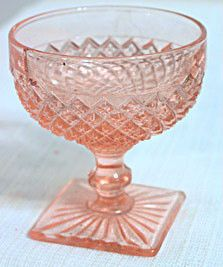 Depression Glass - Anchor Hocking - Miss America - Pink Sherbet
