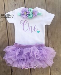 Birthday outfit, Girls Birthday, First Birthday, Birthday Outfit, One Birthday Girl, It's my Birthday, Half Birthday, Purple Birthday Outfit by LucysChicBoutique on Etsy