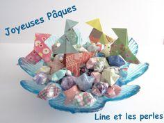 Joyeuses Pâques !! Cocottes et étoiles en papier... Aucun risque d'indigestion :-) #handmade #faitmain #origami #paques #easter #cocotte #papie #paper #stars #etoiles #picoftheday #instagood #bestoftheday #cute