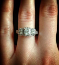 1 carat Diamond Engagement ring. Offering flexible by Mymink