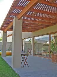 Resultado de imagen para terraza con techo transparente