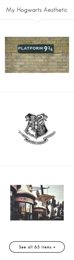 """""""My Hogwarts Aesthetic"""" by awesomeness13j ❤ liked on Polyvore featuring harry potter, backgrounds, pictures, hogwarts, hp, quotes, fillers, text, circular and phrase"""