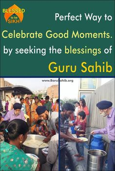 ‪#‎BkessedToBeSikh‬ Perfect Way to celebrate Good Moments.by seeking the blessings of Guru Sahib! Mrs. Kiran Sethi is celebrating her parent's 60th anniversary along with her father, sister and brother in law by serving Langar. It is a perfect way to celebrate good moments. Share and Spread to the world to know !