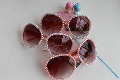P I N K Pearl Sunglasses. So cute.  http://cdn.shopify.com/
