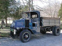 Mack Bulldog with Chain Drive.