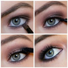 Love, Shelbey: Naked 3 Tutorial: Day or Night Smokey Eye | I find myself constantly Googling for this tutorial. Now I can just find it on my Pinterest!