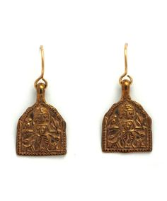 Ancient Goddess Charm Earrings at Maverick Western Wear