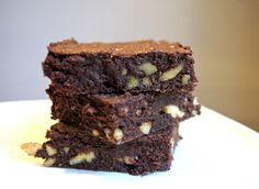 Banting: Brownies using coconut flour. Probably quite high in carbs, but will be tasty!