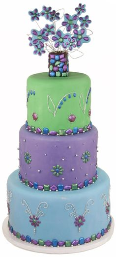 jewel cakes - http://www.cake-decorations.info/jewel-cakes-2/