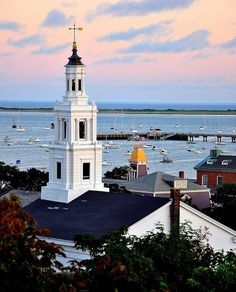 Provincetown, On the tip of old Cape Cod. Been there! Took an amazing whale…