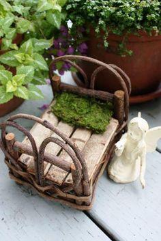 twig bed …