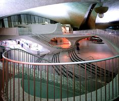 World's Most Beautiful Airport TWA Terminal, John F. Kennedy Airport, New York City Beauty Mark: Eventually you'll be able to walk through the old TWA terminal and its 125-foot-long tubular passageways to check into your flight in the adjacent JetBlue terminal.