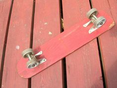 Those metal skateboard wheels would stop you on a dime if you road over something like a pebble. Skateboard Wheels, Door Handles, Metal, Decor, Door Knobs, Decoration, Metals, Decorating, Deco