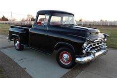1957 CHEVROLET 3100 PICKUP - Barrett-Jackson Auction Company - World's Greatest Collector Car Auctions