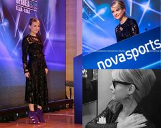 THE BEST OF THE SUPERLEAGUE ! That was the Award night at Benaki Museum organized by NovaSport and PSAP. Host for the evening was journalist and dear friend Lila Kountourioti, wearing a black MI-RO dress, 18K black gold earrings with black round brilliant diamonds and 18K white gold pear-shaped hand-piece all Danelian Diamond Club.