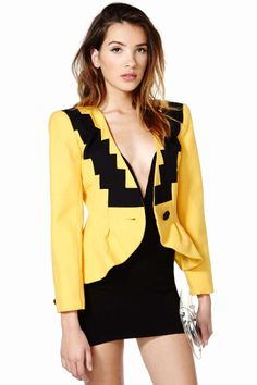 Not Your Stepping Stone Blazer | Shop Vintage at Nasty Gal