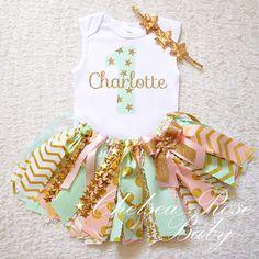 Twinkle Twinkle Little Star Pink Mint Gold by ChelseaRoseBaby