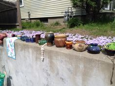 Lots of nice pots still left from my yard sale, let me know if you would like any. Also some baskets great to plant in and other cool items for your gardens!