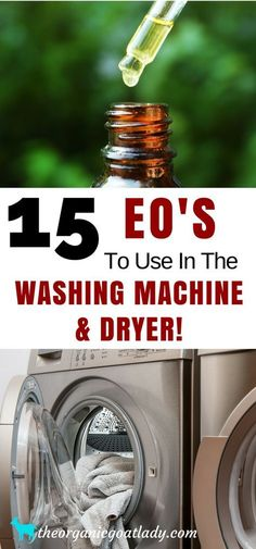 Essential Oil Cleaner Ideas, Essential Oil Recipes, Aromatherapy Recipes, Essential Oils In The Washing Machine, Essential Oils In The Dryer
