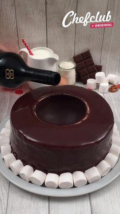 Delicious Cake Recipes, Fun Baking Recipes, Yummy Cakes, Sweet Recipes, Yummy Food, Köstliche Desserts, Chocolate Desserts, Dessert Recipes, Kreative Desserts