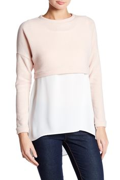 Cozy Twofer Shirt by Abound on @nordstrom_rack