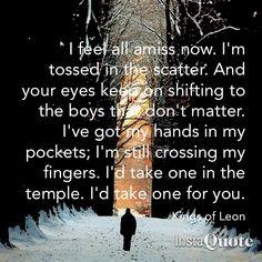 """Kings of Leon lyrics; """"Temple"""""""