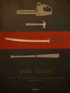 Poster art for Pulp Fiction