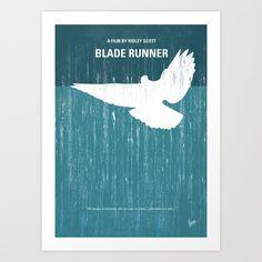 My Blade Runner Minimal Movie Poster Art Print by Chungkong   Society6