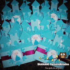 Convite Castelo Frozen