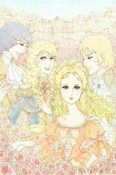 Роза Версаля ♥Versailles no Bara♥'s photos Fantasy Illustration, Oscar, Book Art, Princess Zelda, Fan Art, Manga, Lady, Fictional Characters, Rococo