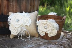 Hey, I found this really awesome Etsy listing at https://www.etsy.com/listing/400275787/flower-girl-basket-and-ring-bearer