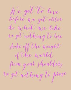 """Alive"" by One Direction lyrics"