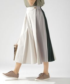Modern Hijab Fashion, Colorful Fashion, Korean Fashion, Fashion Details, Fashion Design, Mode Hijab, Mode Inspiration, Modest Dresses, Skirt Outfits