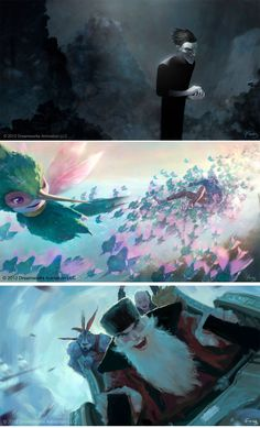 Rise of the Guardians, por Arthur Fong | THECAB - The Concept Art Blog