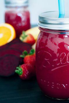 Rote-Beete-Smoothie | Einfach und lecker | Vegan | Rezept | Food | ivy.li