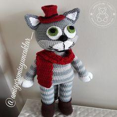 Amigurumi Tom kedi