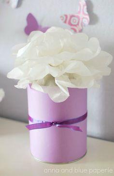 #tutorial #diy #tissue paper pom