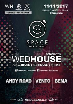 WedHouse ve SPACE, SeeJay Radio - DANCE MUSIC ONLY! Dance Music, Techno, Space, Floor Space, Ballroom Dance Music, Techno Music, Spaces